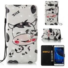Samsung Galaxy J5 2016 lehmä puhelinlompakko