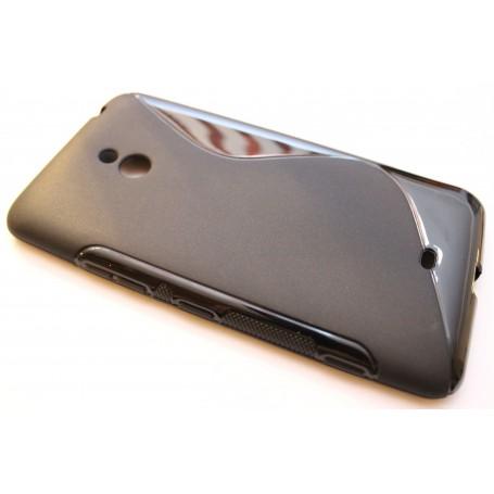 Lumia 1320 musta silikonisuojus.