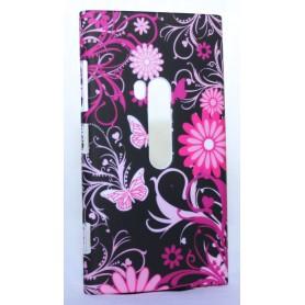 Nokia Lumia 920 kova suojakuori kukkakuosi.
