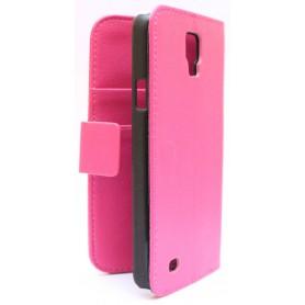 Samsung Galaxy S4 Active hot pink puhelinlompakko