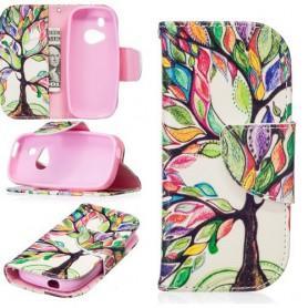 Nokia 3310 (2017) värikäs puu puhelinlompakko