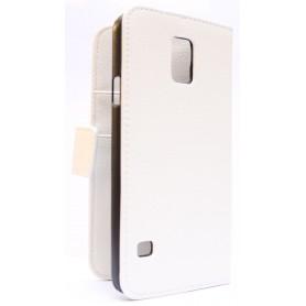 Galaxy S5 valkoinen puhelinlompakko