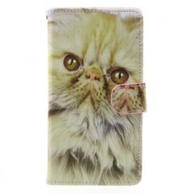 Huawei Honor 7 Lite kissa puhelinlompakko
