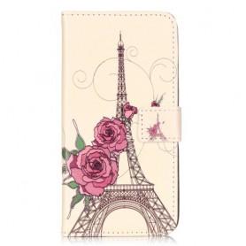 Huawei Honor 7 Lite Eiffel-torni puhelinlompakko