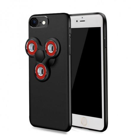 Apple iPhone 7/8/SE 2020 musta spinner-suojakuori.