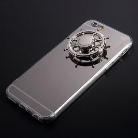 Apple iPhone 6s hopeanvärinen spinner-suojakuori.