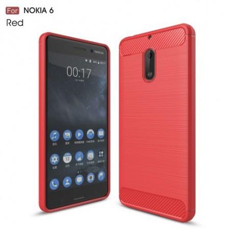 Nokia 6 punainen suojakuori