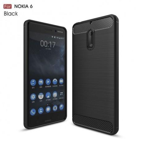 Nokia 6 musta suojakuori