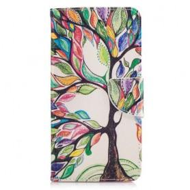Nokia 6 värikäs puu puhelinlompakko