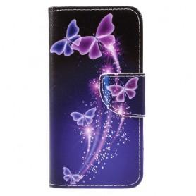 Huawei Honor 8 Lite perhoset puhelinlompakko