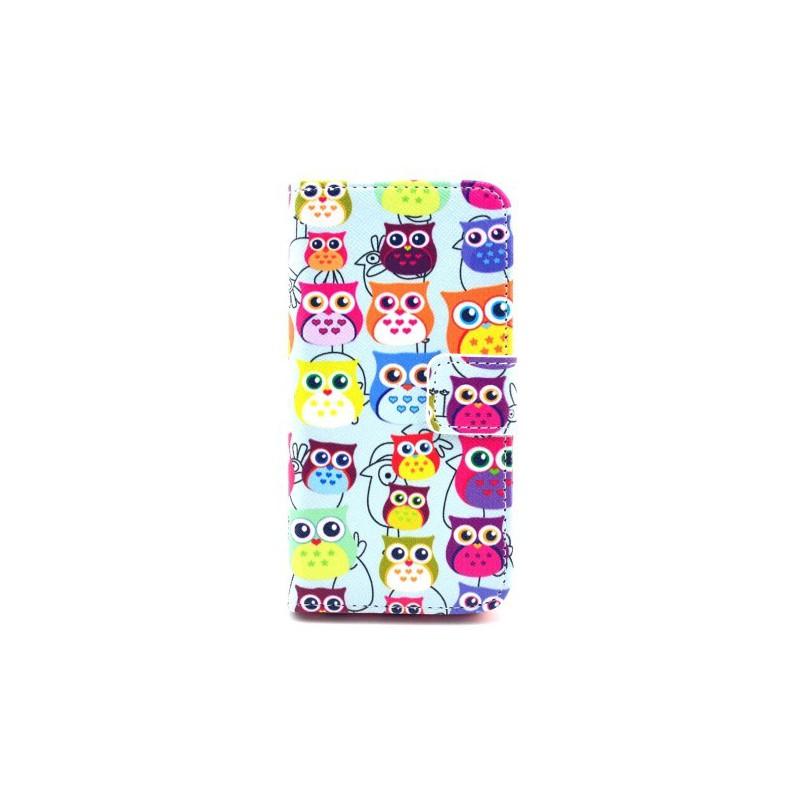 iPhone 5c pöllöt puhelinlompakko