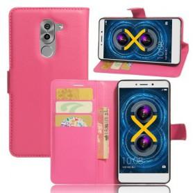 Huawei Honor 6X pinkki puhelinlompakko
