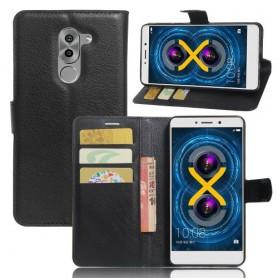 Huawei Honor 6X musta puhelinlompakko