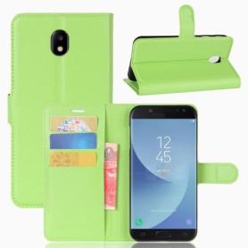 Samsung Galaxy J5 2017 vihreä puhelinlompakko