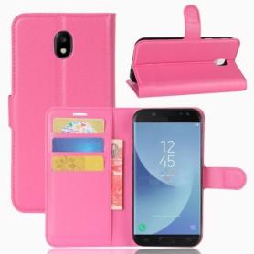 Samsung Galaxy J5 2017 pinkki puhelinlompakko