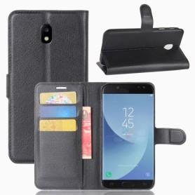 Samsung Galaxy J5 2017 musta puhelinlompakko