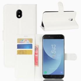Samsung Galaxy J5 2017 valkoinen puhelinlompakko