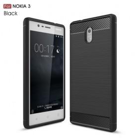 Nokia 3 musta suojakuori