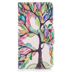 Nokia 5 värikäs puu puhelinlompakko