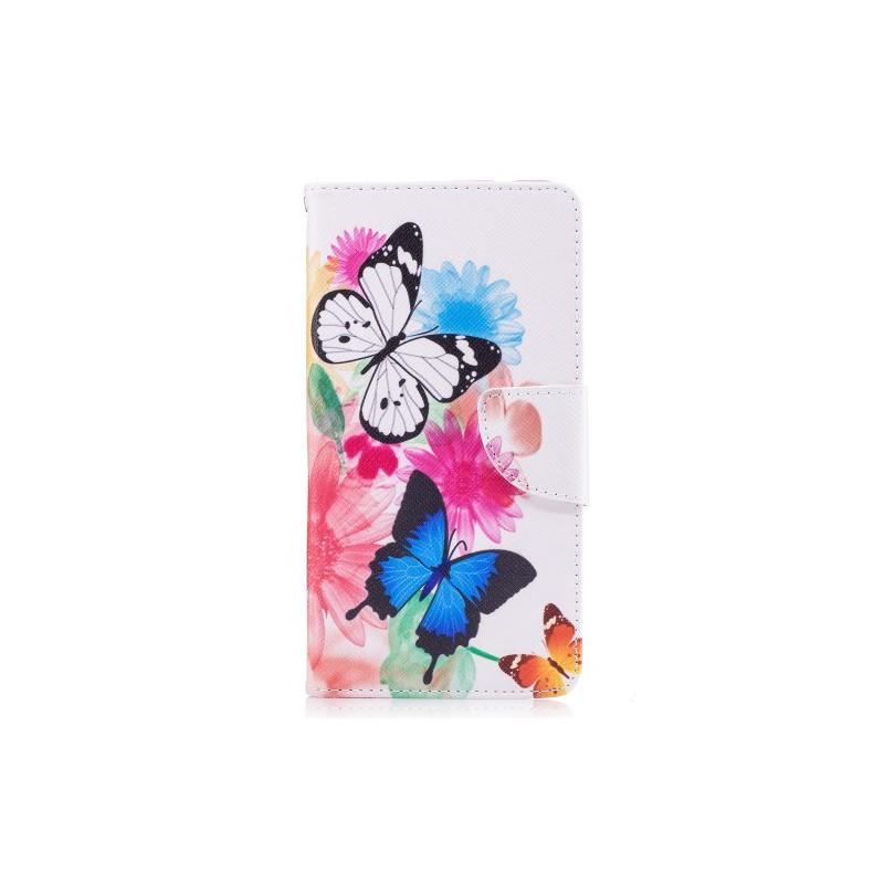 Nokia 5 perhoset puhelinlompakko