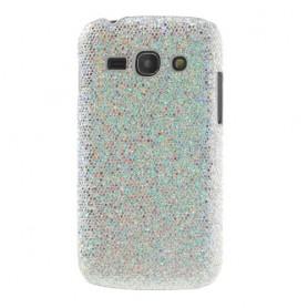 Galaxy ace 3 hopea glitter suojakuori.