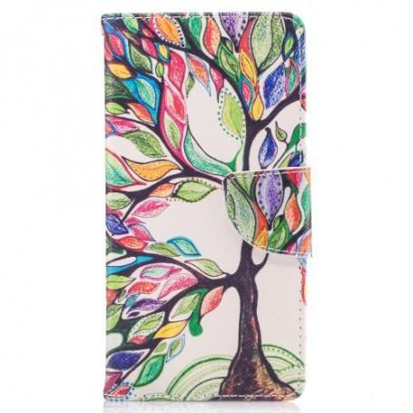 Nokia 3 värikäs puu puhelinlompakko