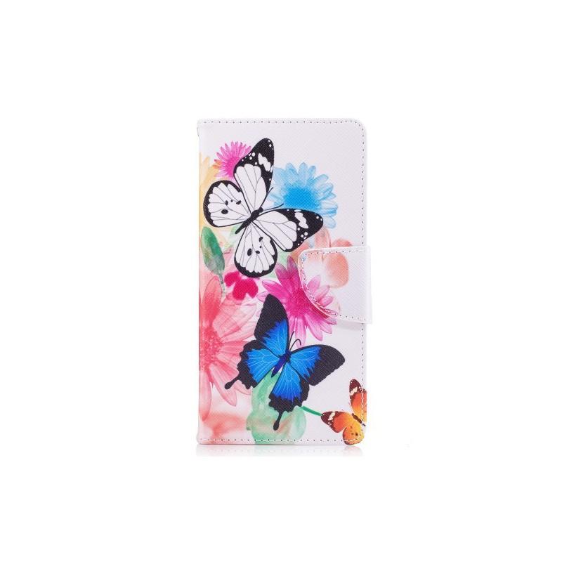 Nokia 3 perhoset puhelinlompakko