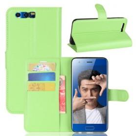 Huawei Honor 9 vihreä puhelinlompakko