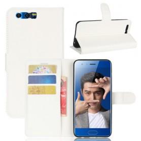 Huawei Honor 9 valkoinen puhelinlompakko