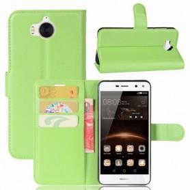 Huawei Y6 2017 vihreä puhelinlompakko