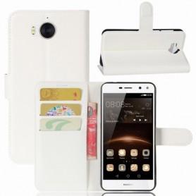 Huawei Y6 2017 valkoinen puhelinlompakko
