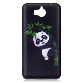 Huawei Y6 2017 panda suojakuori.