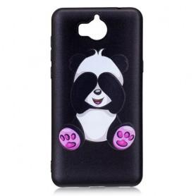 Huawei Y6 2017 söpö panda suojakuori.