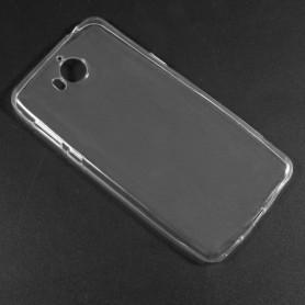Huawei Y6 2017 läpinäkyvä suojakuori.