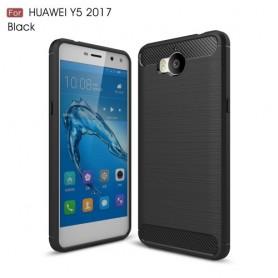 Huawei Y6 2017 musta suojakuori