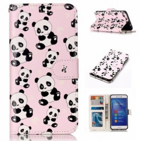 Huawei Honor 8 Lite panda puhelinlompakko