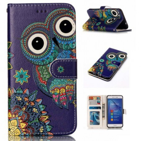 Huawei Honor 8 Lite pöllö puhelinlompakko