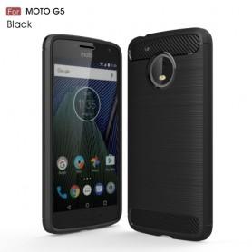 Motorola Moto G5 musta suojakuori