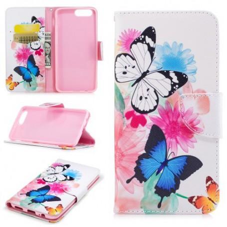 OnePlus 5 perhoset puhelinlompakko