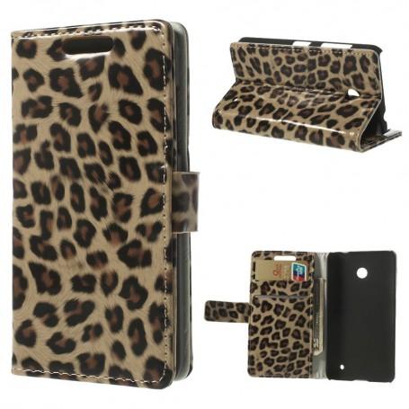 Lumia 630 leopardi puhelinlompakko