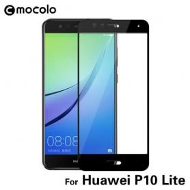 Huawei P10 Lite kirkas karkaistu lasikalvo musta.