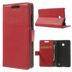 Lumia 630 punainen puhelinlompakko