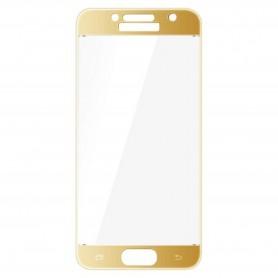 Samsung Galaxy A3 2017 kirkas karkaistu lasikalvo kulta.