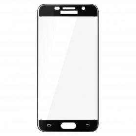 Samsung Galaxy A5 2017 kirkas karkaistu lasikalvo musta.