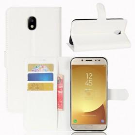 Samsung Galaxy J7 2017 valkoinen puhelinlompakko