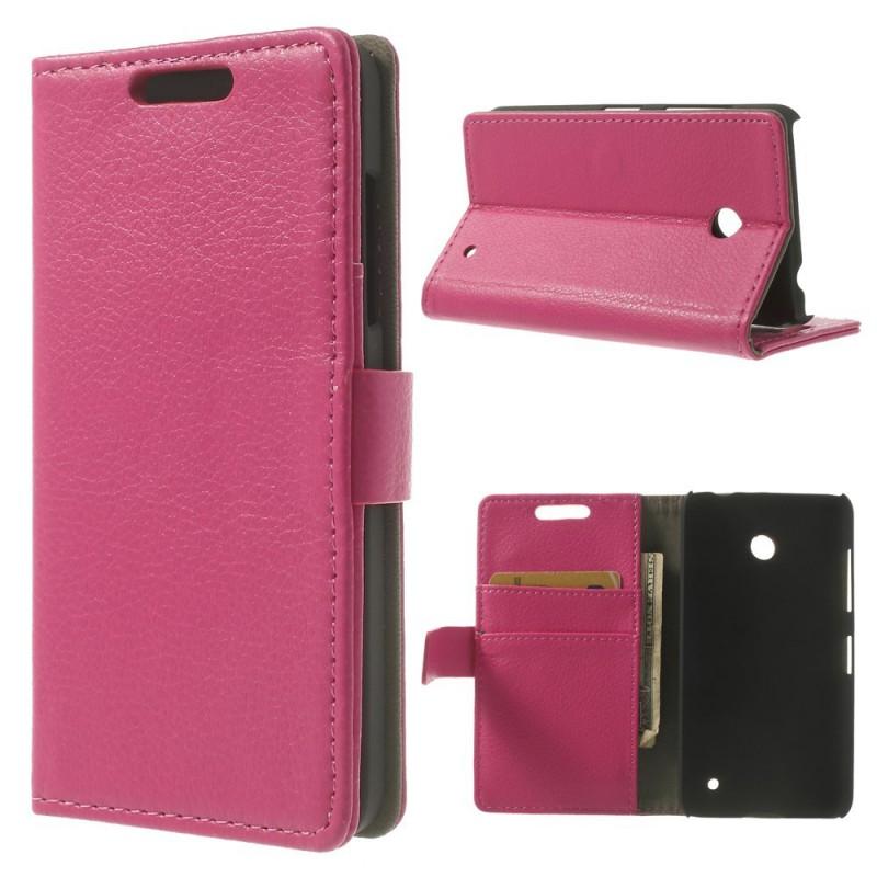 Lumia 630 hot pink puhelinlompakko
