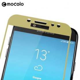 Samsung Galaxy J7 2017 kirkas karkaistu lasikalvo kulta.