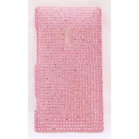 Lumia 800 bling suojakuori vaaleanpunainen.