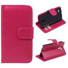 Samsung Galaxy S4 Mini pinkki suojakotelo