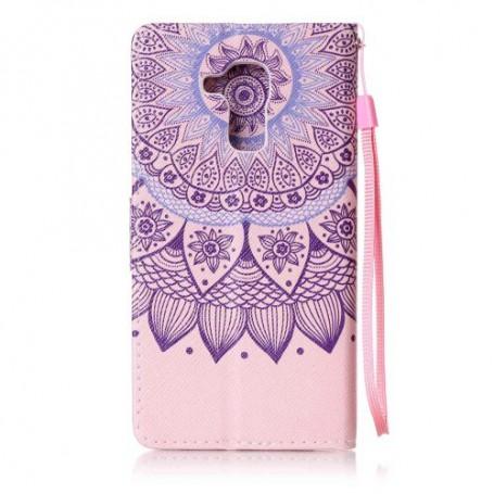 Huawei Honor 7 Lite violetti mandala suojakotelo